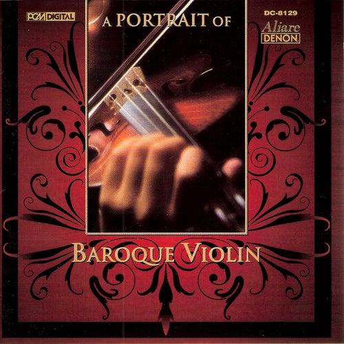 A Portrait of Baroque Violin by Ryo Terakado