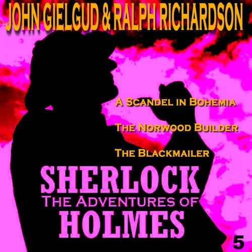The Adventures of Sherlock Holmes Vol. 5 by John Gielgud