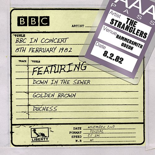 BBC In Concert (8th February 1982) by The Stranglers