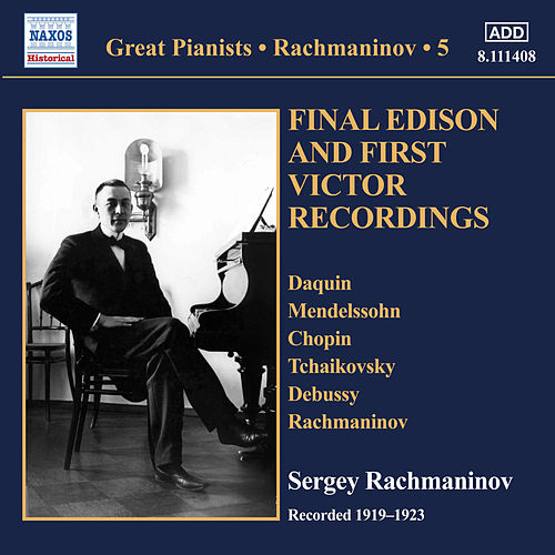 Rachmaninoff: Solo Piano Recordings, Vol. 5 di Sergei Rachmaninoff
