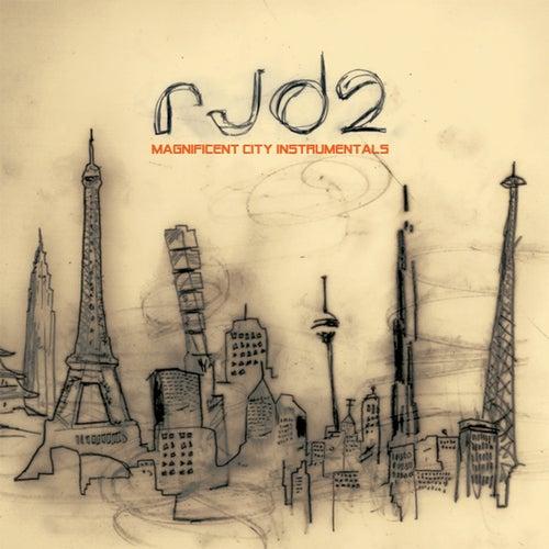Magnificent City Instrumentals de RJD2