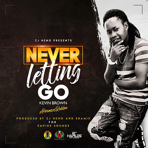 Never Letting Go de Kevin Brown