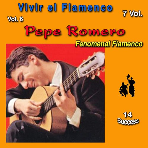 Vivir el Flamenco, Vol. 6 (Fenomenal Flamenco) (14 Sucess) di Pepe Romero