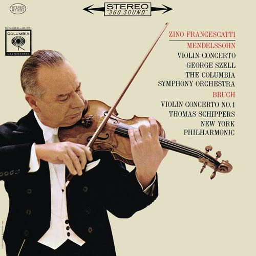 Mendelssohn: Violin Concerto, Op. 64 - Bruch: Violin Concerto No. 1, Op. 26 de Zino Francescatti