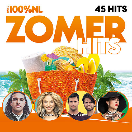 100% NL Zomer Hits van Various Artists