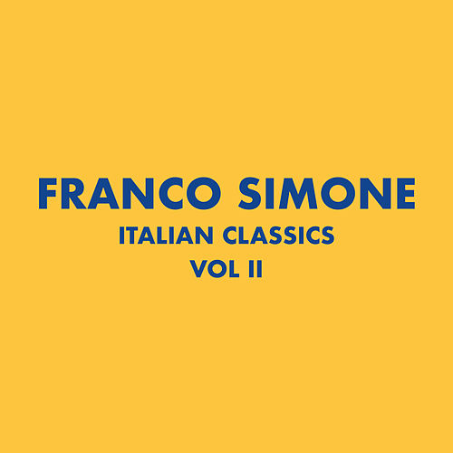 Italian Classics: Franco Simone Collection, Vol. 2 de Franco Simone