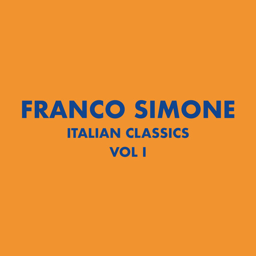 Italian Classics: Franco Simone Collection, Vol. 1 de Franco Simone