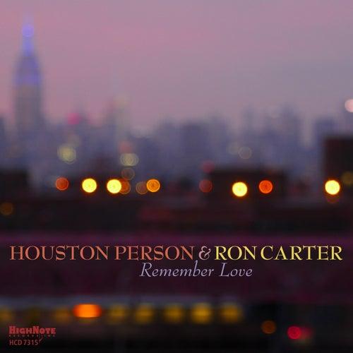 Remember Love de Houston Person