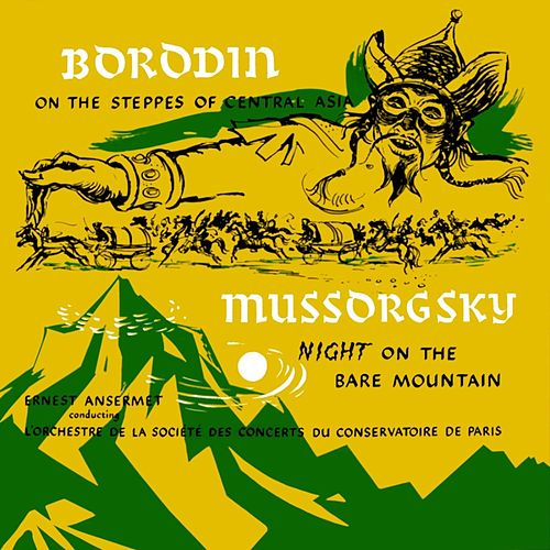 Borodin On The Steppes Of Central Asia de Ernest Ansermet