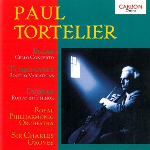 Elgar: Cello Concerto - Tchaikovsky: Rococo Variations von Paul Tortelier