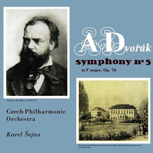 Dvorak Symphony No 5 de Czech Philharmonic Orchestra