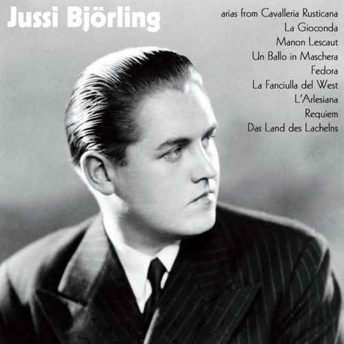 Various Arias by Jussi Björling de Jussi Björling