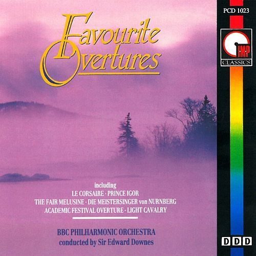 Favourite Overtures by BBC Philharmonic Orchestra