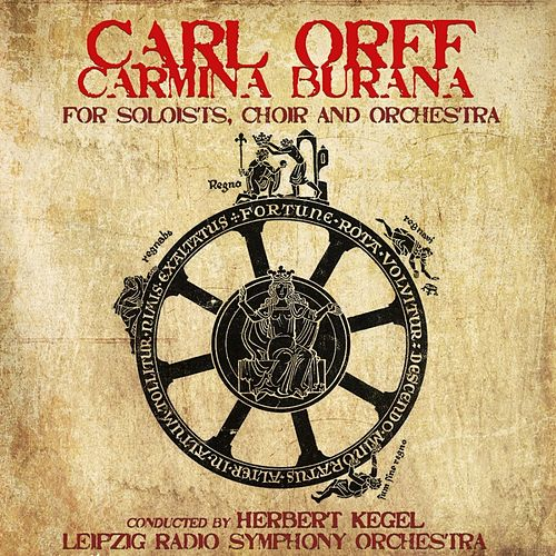Orff: Carmina Burana de Herbert Kegel
