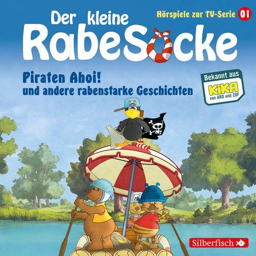 Hörspiele zur TV Serie 1: Piraten Ahoi!, Die Fußballwaldmeisterschaft, Das goldene Amulett von Der Kleine Rabe Socke