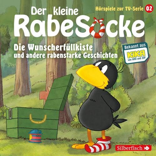 Hörspiele zur TV Serie 2: Die Wunscherfüllkiste, Der Waldgeist, Haltet den Dieb! von Der Kleine Rabe Socke