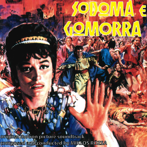 Sodoma e Gomorra (Official motion picture soundtrack) de Miklos Rozsa