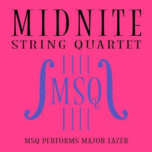 MSQ Performs Major Lazer de Midnite String Quartet