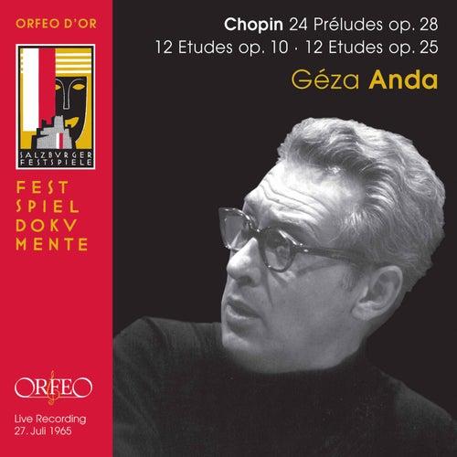 Chopin: Préludes & Études (Live) fra Géza Anda