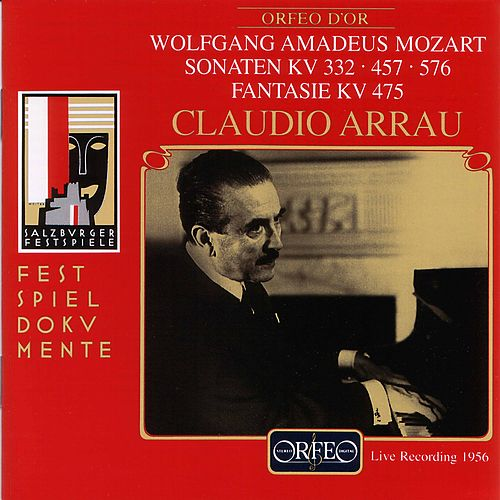 Mozart: Piano Sonatas Nos. 12, 14 & 18 and Fantasia in C Minor (Live) de Claudio Arrau