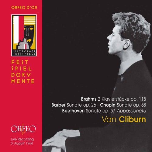 Brahms, Beethoven, Barber & Chopin: Piano Works (Live) de Van Cliburn