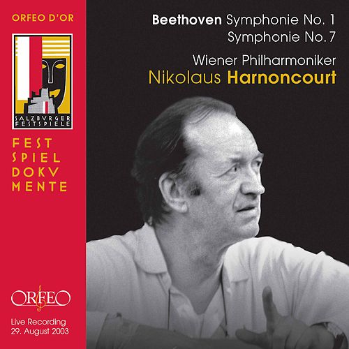 Beethoven: Symphonies Nos. 1 & 7 (Live) by Wiener Philharmoniker