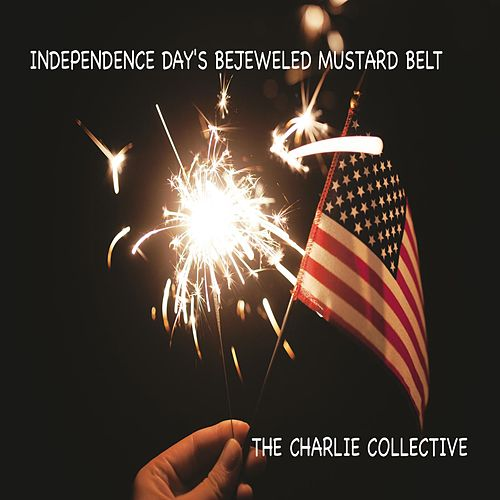 Independence Day's Bejeweled Mustard Belt de The Charlie Collective