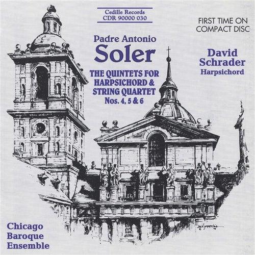 Soler: Quintets for Harpsichord & Strings by David Schrader