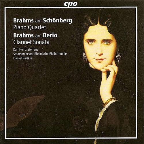 Brahms, J.: Piano Quartet No. 1 (Orch. A. Schoenberg) / Clarinet Sonata No. 1 by Daniel Raiskin