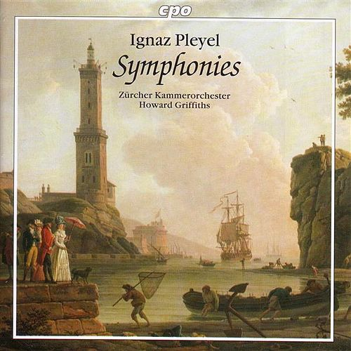 Pleyel: Symphonies, B. 126 and 140 / Symphonie Concertante, B. 115 von Howard Griffiths