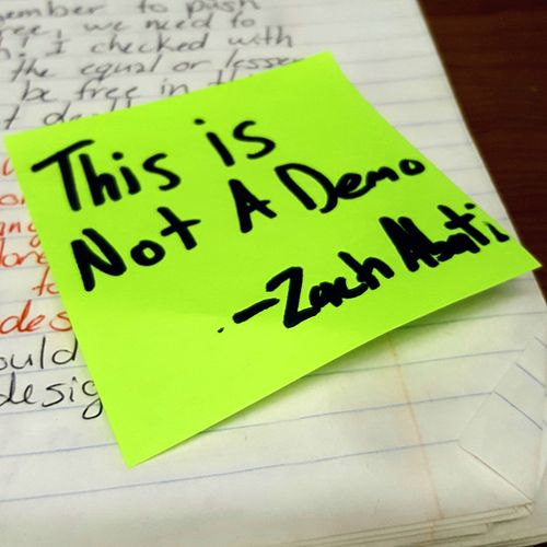 This Is Not a Demo von Zach Abati