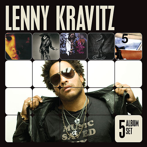5 Album Set by Lenny Kravitz