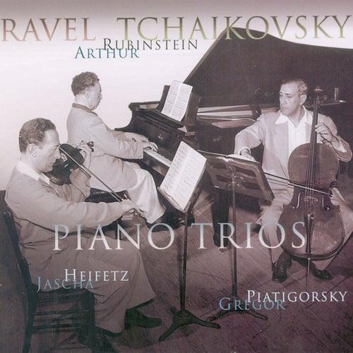 Ravel / Tchaikovsky: Piano Trios by Arthur Rubinstein