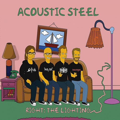 Right: The Lighting von Acoustic Steel