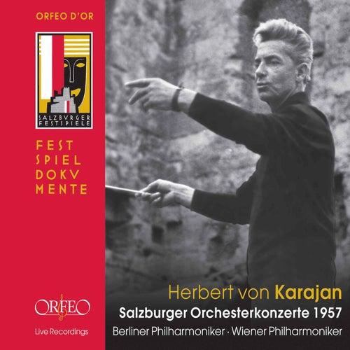 Salzburger Orchesterkonzerte 1957 (Live) by Various Artists