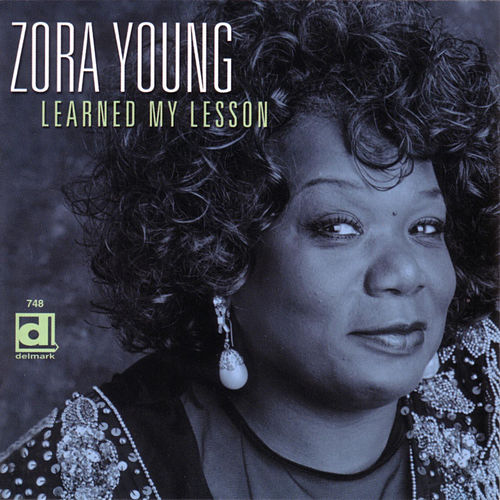 Blues Falling Down Like Rain von Zora Young