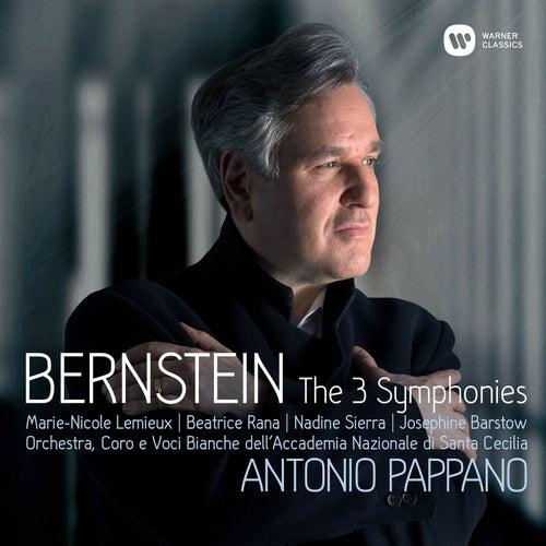 Bernstein: Symphonies Nos 1-3, Prelude, Fugue & Riffs von Antonio Pappano