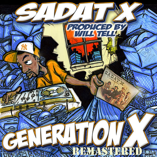Generation X Album Remastered von Sadat X