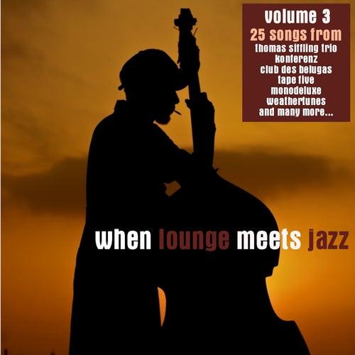 When Lounge Meets Jazz Vol. 3 de Various Artists
