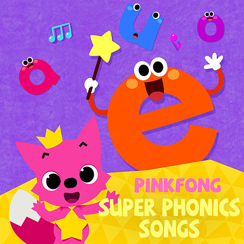 Super Phonics Songs by Pinkfong