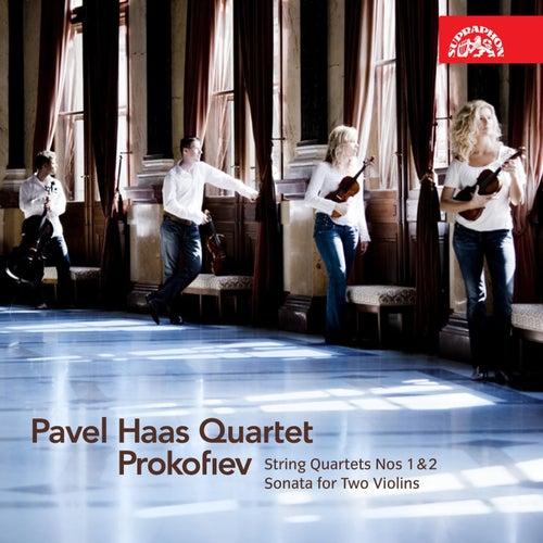 Prokofiev:  String Quartets Nos 1& 2, Sonata for Two Violins von Pavel Haas Quartet