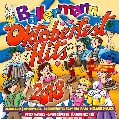 Ballermann Oktoberfest Hits 2018 von Various Artists