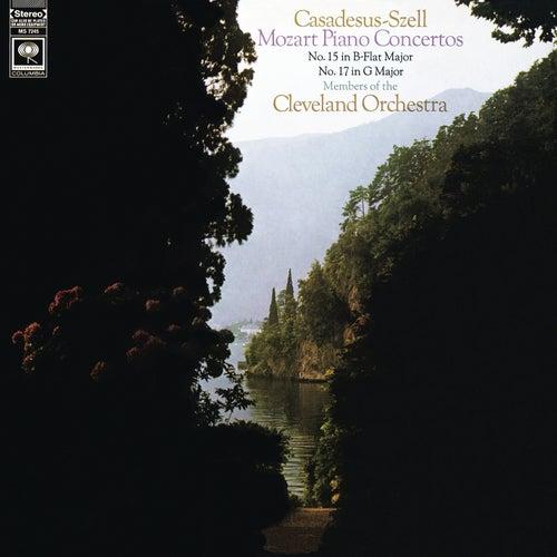 Mozart: Piano Concertos Nos. 15 & 17 (Remastered) by Robert Casadesus