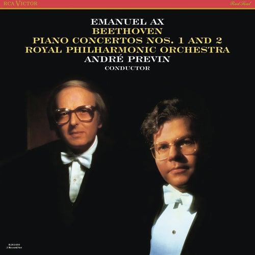 Beethoven: Piano Concertos Nos. 1 & 2 by Emanuel Ax