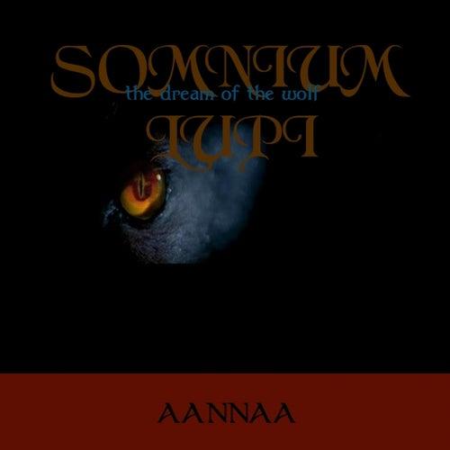 Somnium lupi (The Dream of the Wolf) von Aannaa