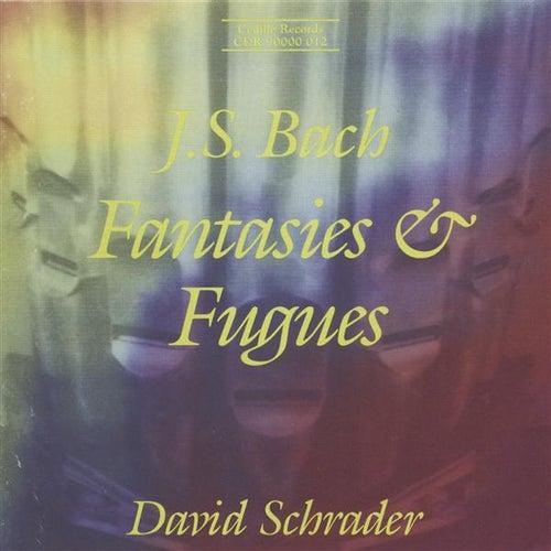 Bach, J.S.: Fantasies & Fugues by David Schrader