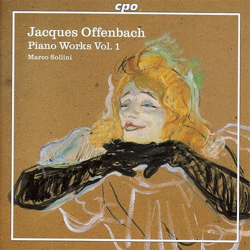 Offenbach, J.: Piano Music, Vol. I by Marco Sollini