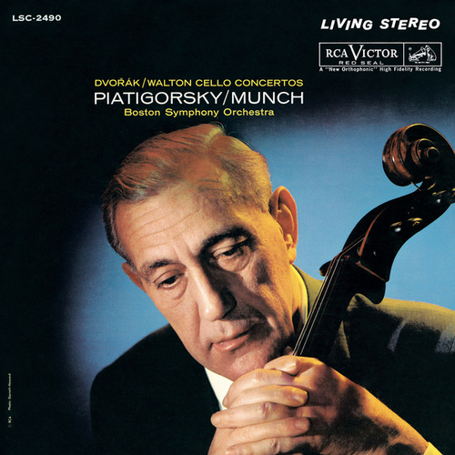 Dvorák; Walton: Cello Concertos de Gregor Piatigorsky