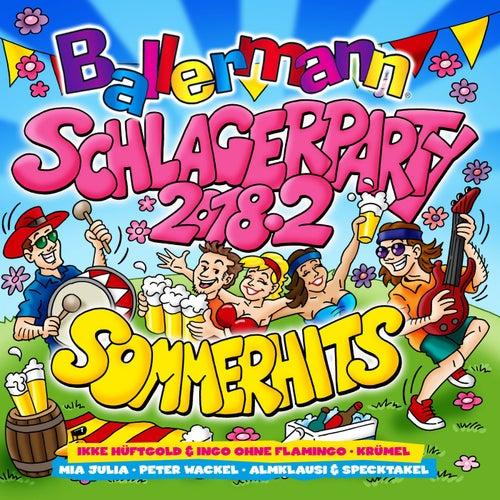 Ballermann Schlagerparty 2018.2 (Die Sommerhits) von Various Artists