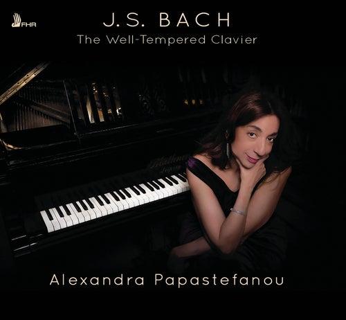 Bach: The Well-Tempered Clavier, Books 1 & 2 de Alexandra Papastefanou